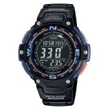 Beli Casio Sgw 100 2B Digital Compass Thermometer 5 Alarms Online