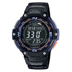 Diskon Casio Sgw 100 2B Digital Compass Thermometer 5 Alarms