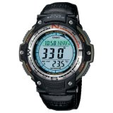 Casio Sgw 100B 3V Digital Compass Thermometer Hitam Indonesia