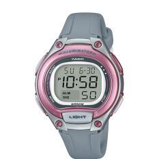 Casio Sport LW-203-8AVDF - Jam Tangan Wanita - Grey Pink - Strap Resin - LM
