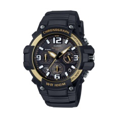 Jual Casio Sports Men S Watch Mcw 100H 9A2V Desain Tugas Berat Watch Dengan Black Silicone Band Watch Intl Casio Ori
