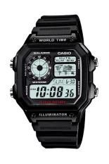 Diskon Casio Digital Ae 1200Wh 1A Jam Tangan Pria Black Resin Band Akhir Tahun