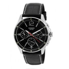 Beli Casio Standard Black Dial Watch Mtp1374L 1A Intl Murah Indonesia