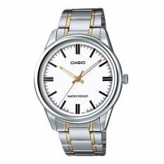 Situs Review Casio Standard Jam Tangan Pria Mtp V005Sg 7A Abu Abu Strap Stainless Steel