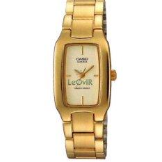 Casio Standard LTP-1165N-9C - Jam Tangan wanita - Gold - Strap Stainless