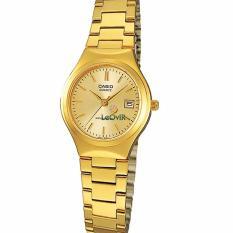Casio Standard LTP1170N-9A - Jam Tangan wanita - Gold - Strap Stainless Steel