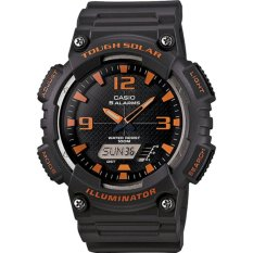 Beli Casio Standard Men S Watch Black Resin Band Aq S810W 8A 100M World Time Solar Powered Intl Terbaru