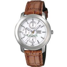 Jual Casio Standard Mtp 1192E 7A Jam Tangan Pria Brown Strap Leather Lm Casio Branded