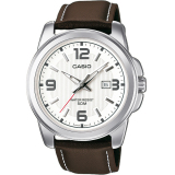 Spesifikasi Casio Standard Mtp 1314L 7A Analog Date Men S Watch Brown White Yg Baik