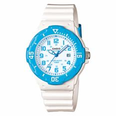 Jual Casio Standard Original Jam Tangan Wanita Lrw 200H 2Bv Putih Biru Strap Resin Antik