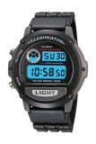 Promo Casio Digital W 87H 1V Jam Tangan Pria Black Resin Band Casio Terbaru