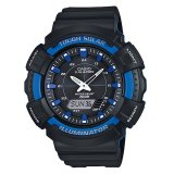 Review Casio Tough Solar Ad S800Wh 2A2V Analog Digital Men S Watch Blue