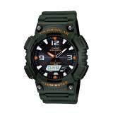 Beli Casio Tough Solar Aq S810W 3Av Analog Digital Men S Watch Dark Green Orange Online Murah