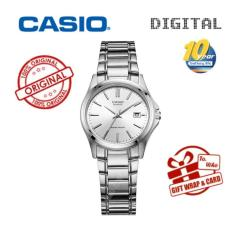 Casio Watch Mewah Brand Tanggal LTP-1183A-7A QUARTZ Wrist Watches Women Fashion Casual Pengiriman Gratis Jam