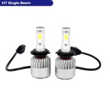 Castaleca Led H7 Single Beam Auto Headlight Kit 6500 K 8000Lm Hi Lo Single Beam Mobil Led Bulb Intl Tiongkok Diskon