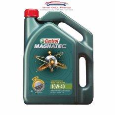 Harga Castrol Magnatec 10W 40 Api Sn Cf Pelumas Oli Mesin Mobil Bensin 4 Liter Yang Bagus