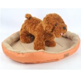 Jual Cat Dog Bed Fleece Plush Cozy Sarang Mat Pad Bantal Bed Soft Nbsp Intl Online