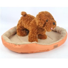Review Tentang Cat Dog Bed Fleece Plush Cozy Sarang Mat Pad Bantal Bed Soft Nbsp Intl