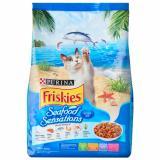 Jual Cat Food Makanan Kucing Friskies Seafood Sensation 1 1 Kg Friskies Asli