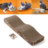 Review Pet Kucing Baru Yang Berbekas Cakaran Bergelombang Naik Tiang Tambahan Bantalan Matt Mainan Terbaru