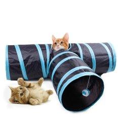 Cat Tunnel Toy, lauva menggaruk Post untuk Cats Puppy Bunn