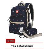Spesifikasi Catenzo Junior Tas Ransel Backpack Sekolah Anak Perempuan Cmm001 Lucu Gratis Tas Botol Minum Hitam Yang Bagus