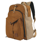 Toko Catenzo Tas Laptop Ransel Backpack Canvas Tan Catenzo