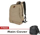 Jual Catenzo Tas Laptop Ransel Backpack Sekolah Kuliah Kerja Best Seller Cream Plus Gratis Rain Cover Pelindung Hujan Online Di Jawa Barat