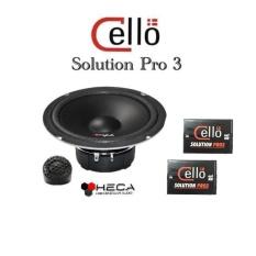 CELLO Solution Pro 3 Speaker Pintu Mobil Split Set Pro3 ORIGINAL