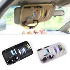 Cenita Otomatis Mobil Vehicle Matahari Kedok Kulit Cd Disk Dompet Tas Tas Penahan-Internasional