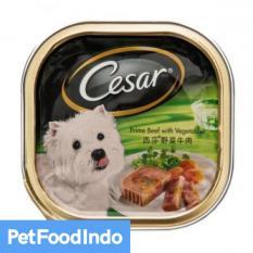Spesifikasi Cesar Prime Beef With Vegetable 100 Gr 12 Pcs Terbaru