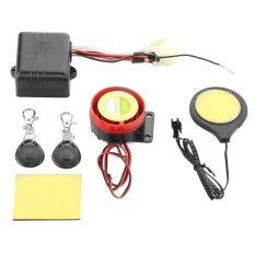 Cestlafit Sepeda Motor IC Kartu Alarm Induksi Invisible Lock-INTL