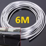 Jual Channy 6 Meter Chrome Moulding Trim Strip Car Door Edge Scratch Guard Protector Cover New Intl Branded