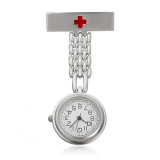 Ulasan Lengkap Channy Stainless Steel Medis Dokter Perawat Cross Bros Jubah Fob Quartz Pocket Watch Silver Intl