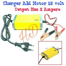 Review Charger Aki 12 Volt Import