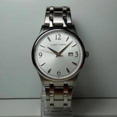 Charles Jourdan Jam Tangan Pria Charles Jourdan CJ197.12 Silver Stainless Steel Watch