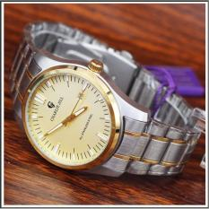 Charlie Jill 1334m2t ivory jam tangan pria strap stainless-silver