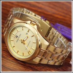 Charlie Jill 1353mk gold jam tangan pria strap stainless-gold