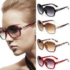 Toko Charm Wanita Sunglasses Kepribadian Big Frame Kacamata Vintage Polarized Sunglasses Merek Desain Eyewear Musim Panas Outdoor Kacamata Fashion Aksesoris Ungu Intl Terlengkap Di Indonesia