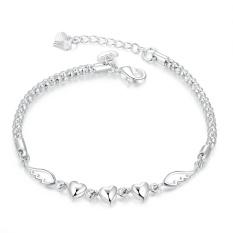 Menawan China pemasok cinta selamanya gelang perak Gelang fashion gelang Charm Bracelet cicret gelang untuk Wanita