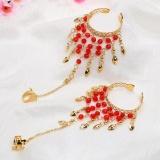 Spesifikasi Menawan India Gaya Perhiasan Gelang 2 Pcs Intl Bagus