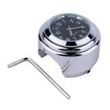 Beli Cheer 1 Pc Tahan Air Motor Motor Handlebar Mount Round Dial Clock Kekuatan Tinggi Hot Intl Di Tiongkok