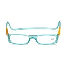 Toko Cheer Magnetic Lipat Pria Wanita Square Bentuk Kacamata Baca Gantung Leher Kacamata Langit Biru 250 Derajat Internasional Terdekat