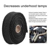 Toko Cheer Motorcycles Turbo Manifold Heat Exhaust Wrap Tape Thermal Stainless Ties Intl Murah Di Tiongkok