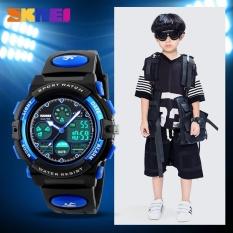 "SKMEI Children  Watch 1163 Olahraga Watches Fashion Children Digital LED Watch Bandung Photo: ""laki-laki Waterproof Kartun Siswa Jam Tangan-Intl"