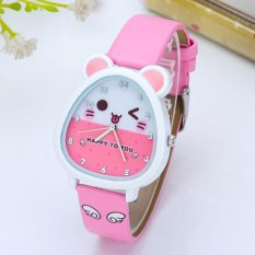 Top 10 Anak Anak Watch Girls Boy Lovely Kartun Gadis Quartz Watch Tahan Air Elektronik Intl Online
