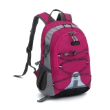 Children Waterproof Bookbag Travel Rucksack Sch**l Bag Rose Red Oem Diskon 50