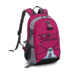 Harga Children Waterproof Bookbag Travel Rucksack Sch**l Bag Rose Red Fullset Murah