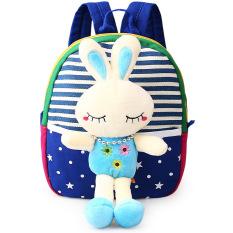 Toko Anak Anak Tas Sekolah Untuk Anak Laki Laki Dan Perempuan Di Kindergarten Kids 1 3 Tahun Bayi Tas Cute Backpack Biru Rabbit Termurah Di Tiongkok
