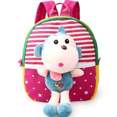 Harga Anak Anak Tas Sekolah Untuk Anak Laki Laki Dan Perempuan Di Kindergarten Kids 1 3 Tahun Bayi Tas Cute Backpack Merah Monkey Satu Set